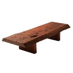 Live edge bench or coffee table by Zanini de Zanine