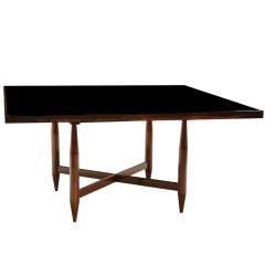 Brazilian Mid-Century Modern Exotic Hardwood Dining Table