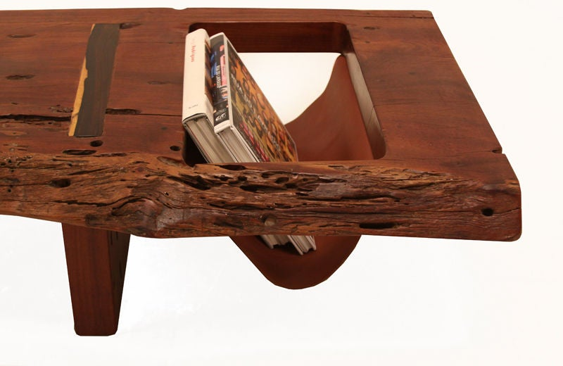 Large Live Edge Coffee Table Or Bench By Zanini De Zanine