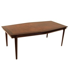 Monteverdi Young Walnut Burl Dining Table