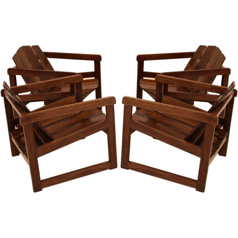 Set Of 4 Sergio Rodrigues Taja Danif Chairs 1