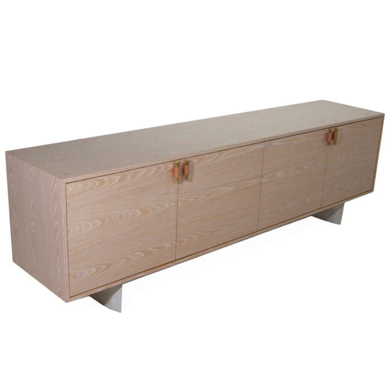 The Rio Credenza in Bleached oak by Thomas Hayes Studio at ...