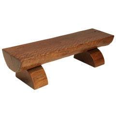 Reclaimed Maçaranduba wood bench by Zanini de Zanine