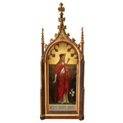 Massive Gothic Revival Decorative Frame by Augustus Welby Pugin