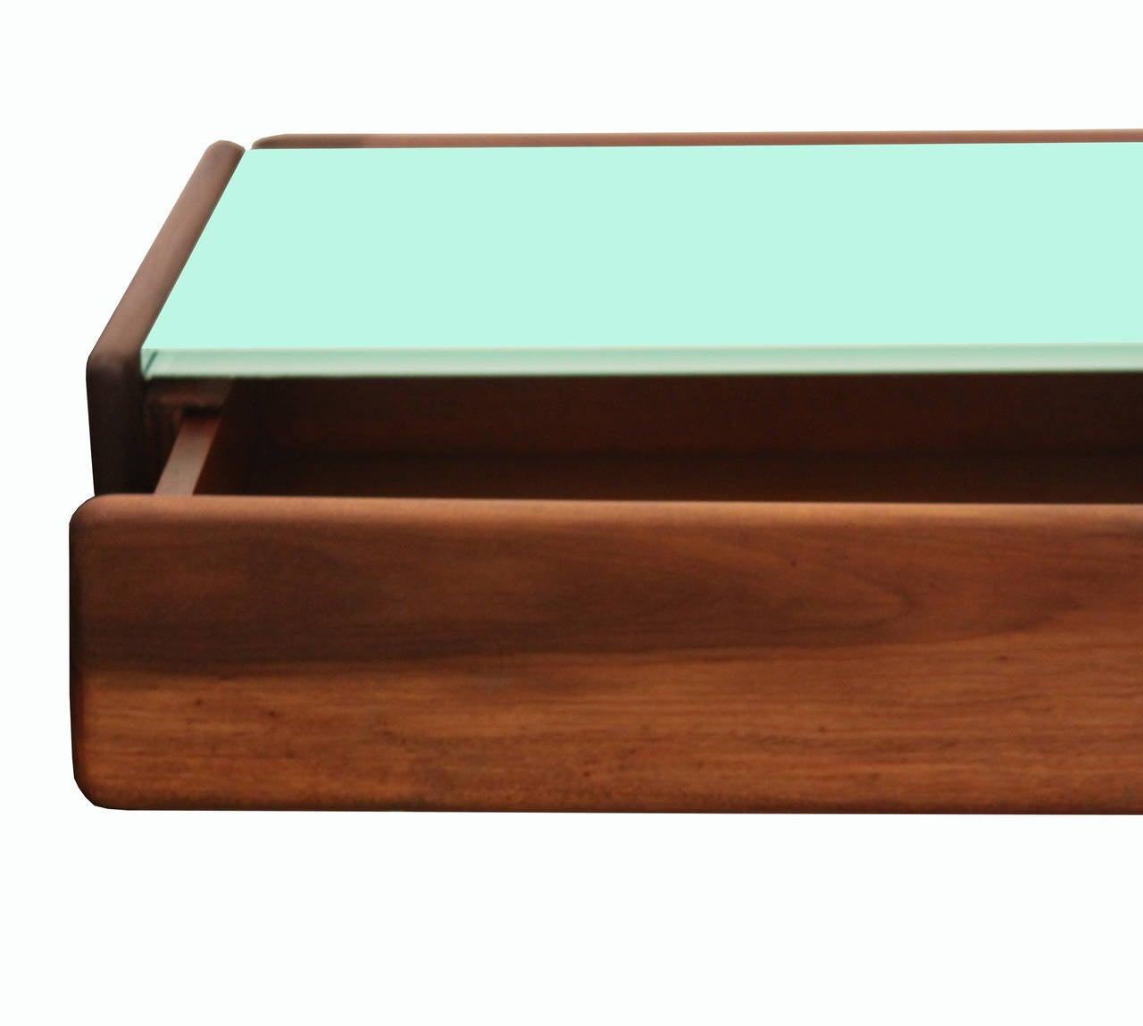 floating two drawer shelf by celina moveis at 1stdibs. Black Bedroom Furniture Sets. Home Design Ideas