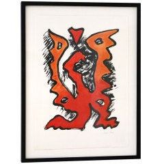 Man Ray Color Lithograph