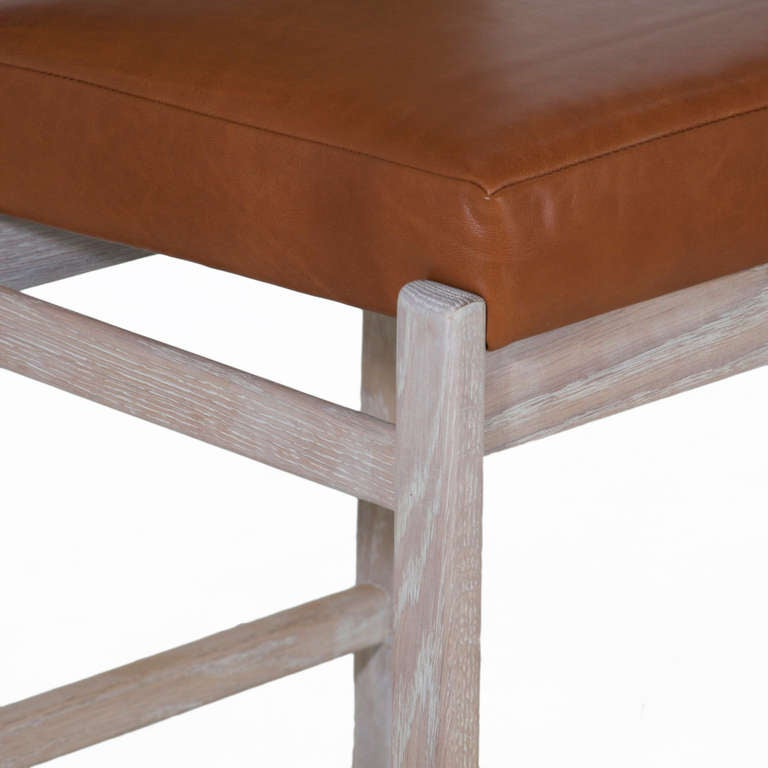 The Basic Stool In Solid Oak W Blanched Oil By Thomas