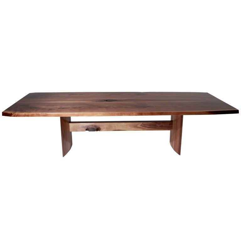 The Jantar Dining Table in Walnut by Thomas Hayes Studio