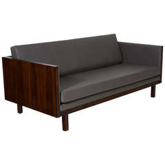 Brazilian Rosewood Case Sofa