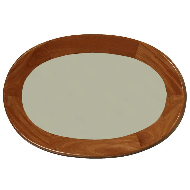 Oval Mirror by Guiseppi Scapinelli 2