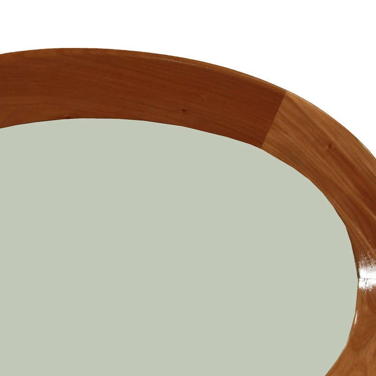 Oval Mirror by Guiseppi Scapinelli 4