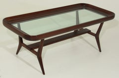 Sculptural Glass Coffee Table By Guiseppi Scapinelli