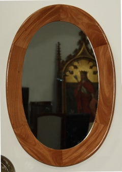 Oval Mirror by Guiseppi Scapinelli