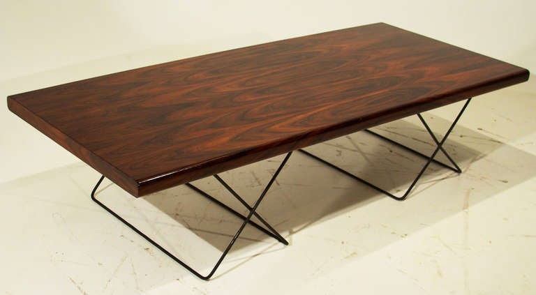 Great Large Brazilian Rosewood Coffee Table By Jorge Zalszupin 2