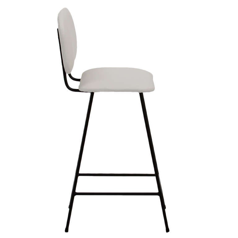 The Scoop Stool With Back By Thomas Hayes Studio At 1stdibs