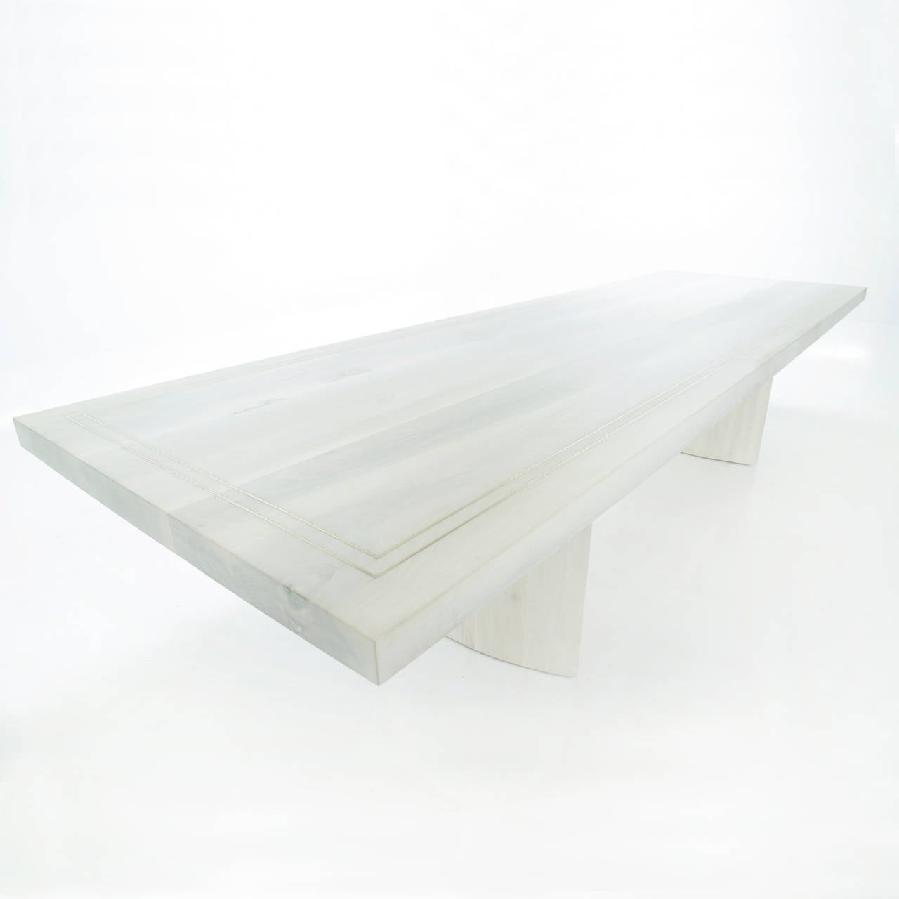 Jantar Alloy Dining Table by Thomas Hayes Studio 4