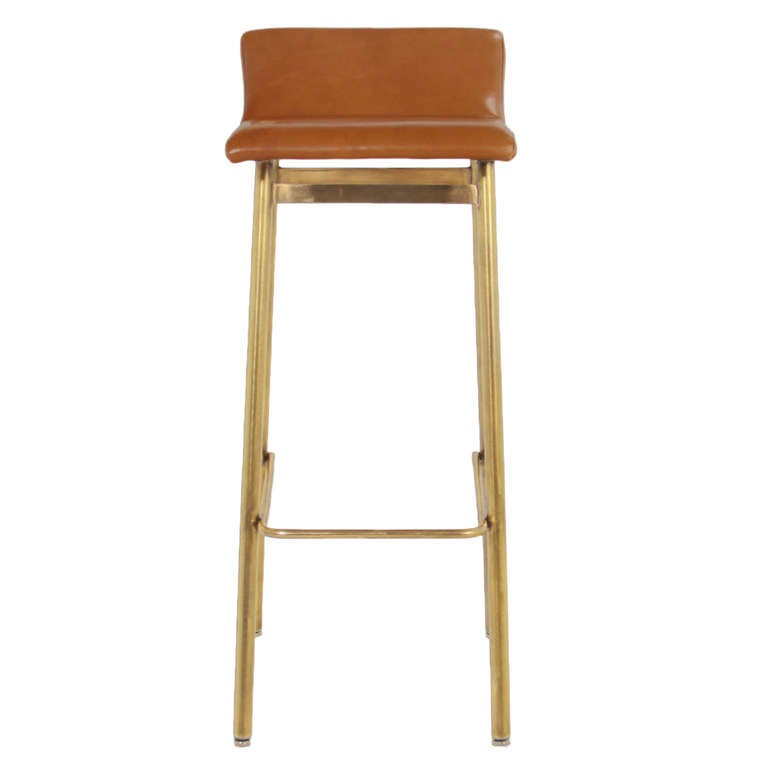 The Brass Gachot Bar Stool by Thomas Hayes Studio at 1stdibs : 5l from 1stdibs.com size 768 x 768 jpeg 16kB