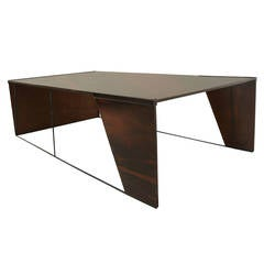 Large Brazilian Rosewood Coffee Table by Jorge Zalszupin