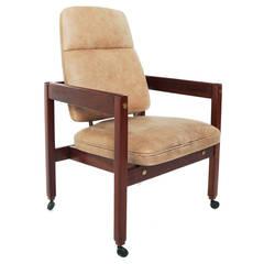"High-Back ""Kiko"" Armchair by Sergio Rodrigues"