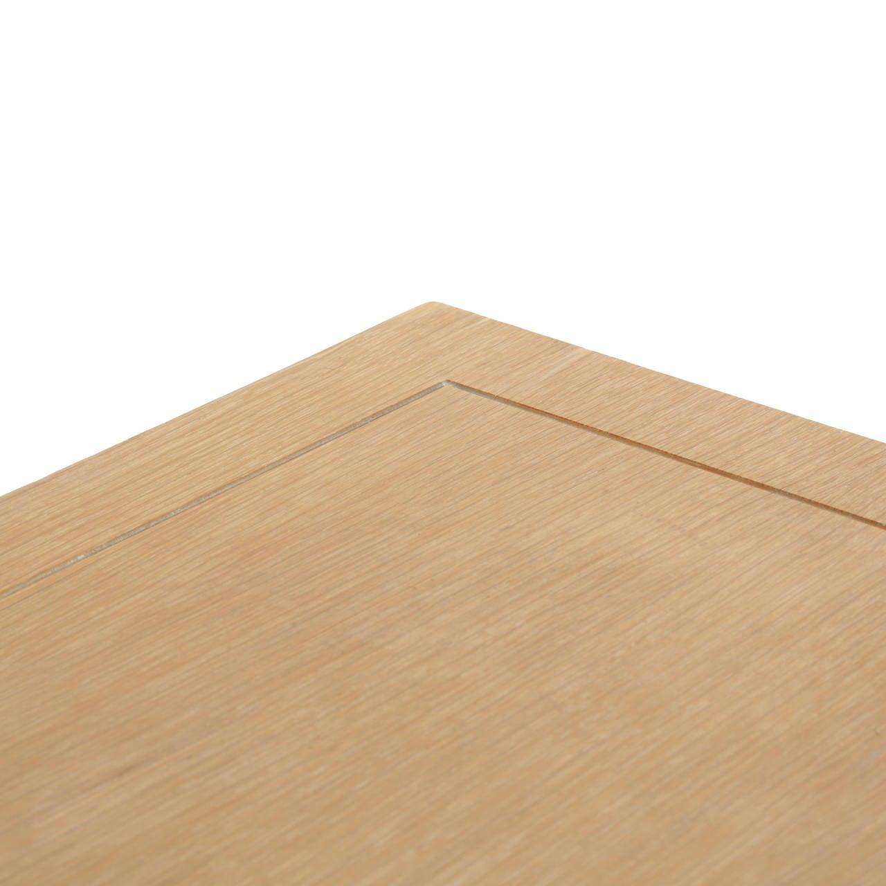 Oak Secretary Desk by Irwin with Letter Cabinet For Sale 4