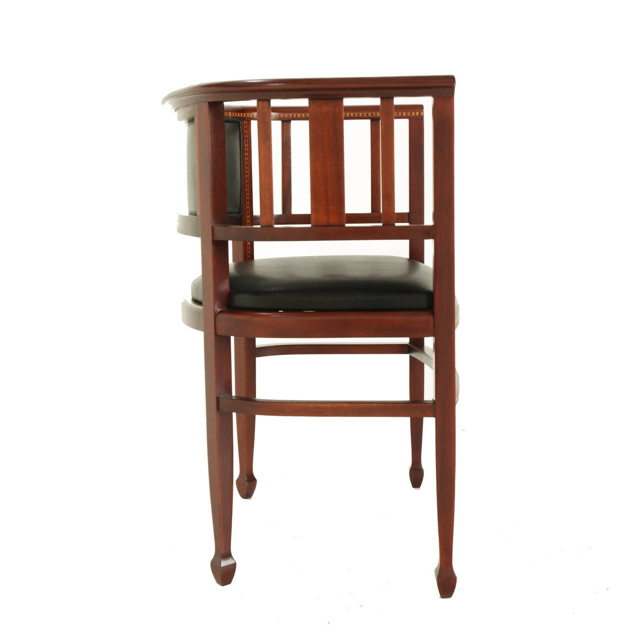 Exotic Wood Chairs ~ Brazilian exotic hardwood chair with sculpted feet and