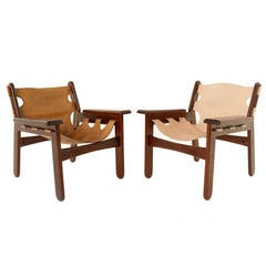 "Pair of ""Kilim"" Armchairs by Sergio Rodrigues"