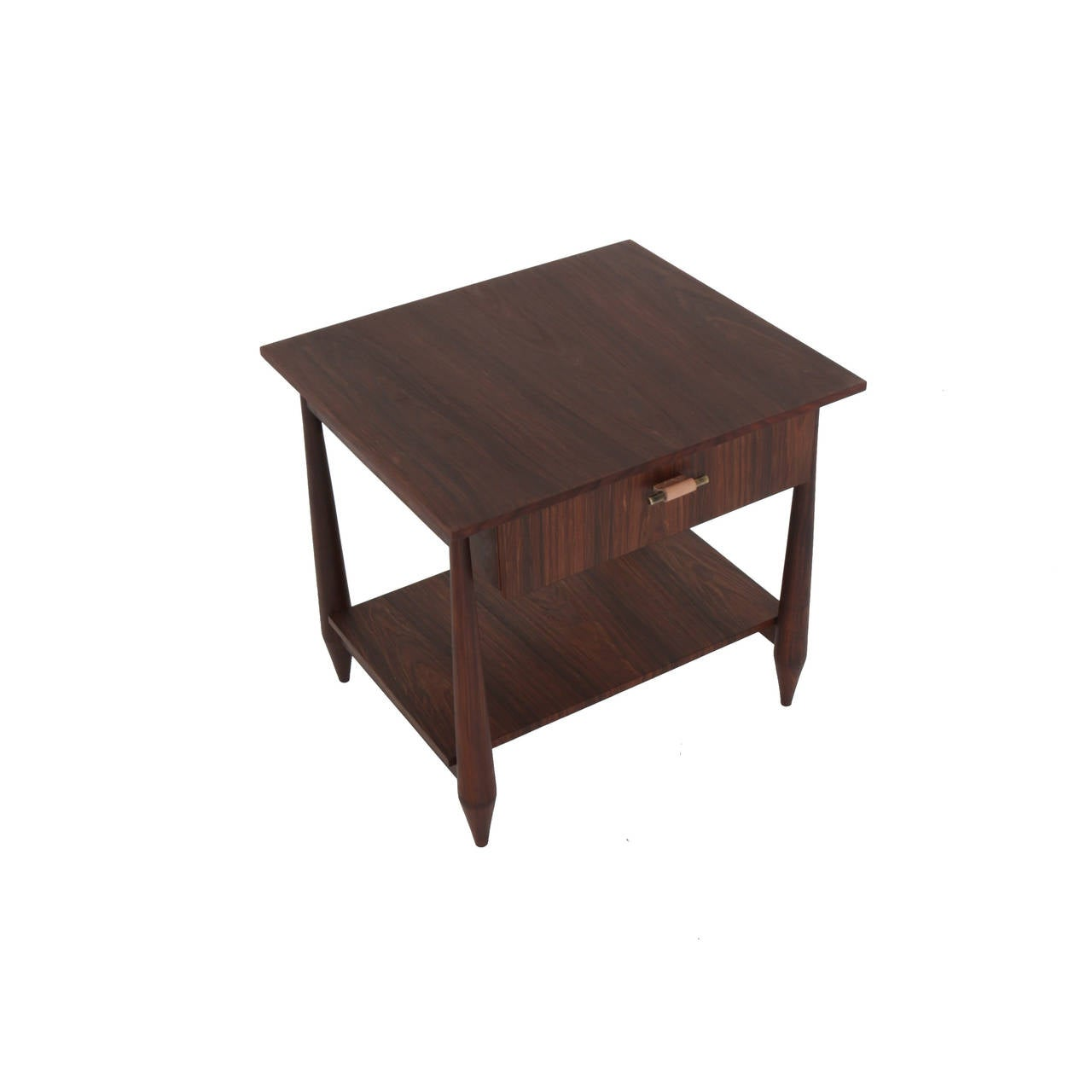 Rosewood Side Table By Thomas Hayes Studio At 1stdibs