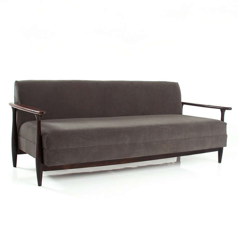 Solid Rosewood Brazilian Sofa By Celina Moveis Decoracoes