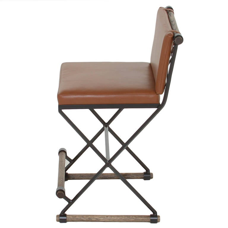 The Pepe Bar Stool In The Manner Of Cleo Baldon By Thomas