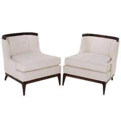 Pair of Erwin Lambeth for Tomlinson Sculptural Chairs