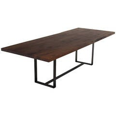 Colyer Dining Table in Walnut by Thomas Hayes Studio