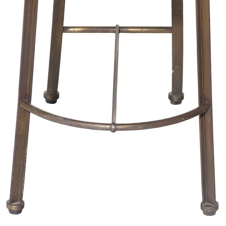 Single Bronze and Freijo Wood Chair by Pedro Useche For Sale 2