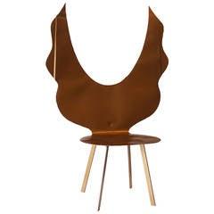 Cadeira Anjo Duorada/Angel Gold chair by Alê Jordão