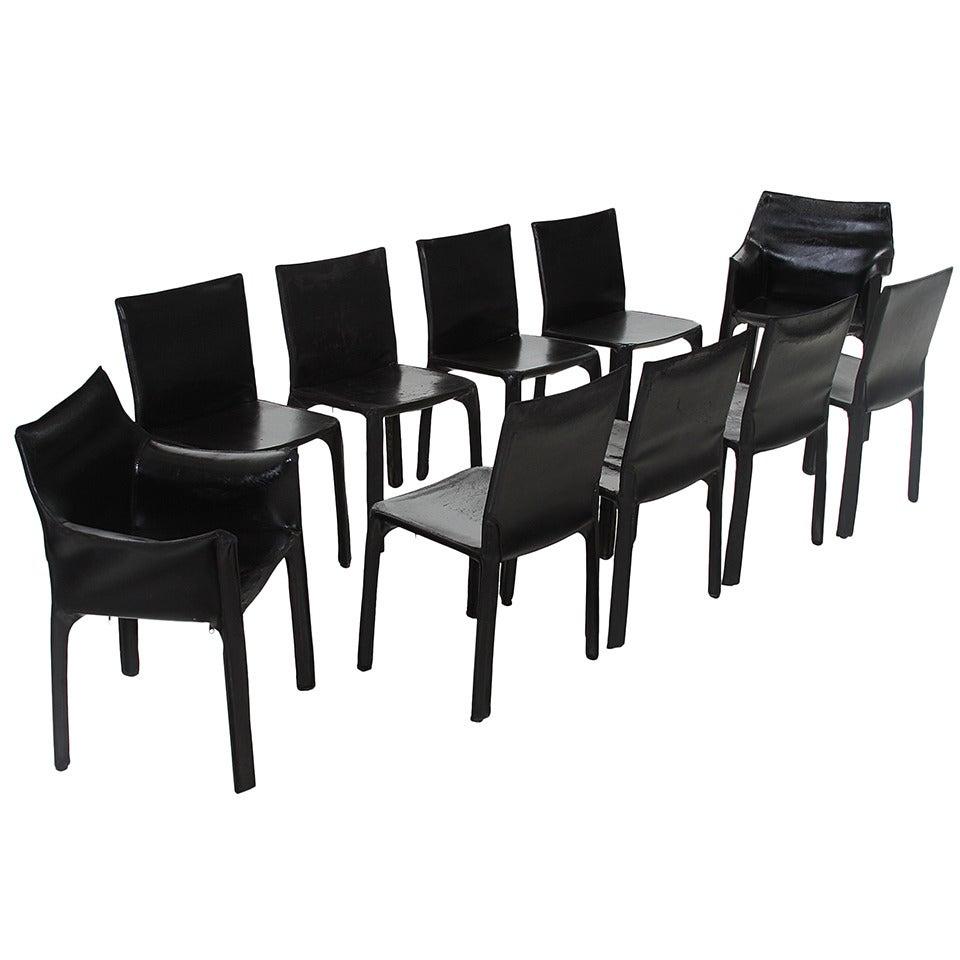 Mario Bellini  Cab Dining Room Chairs