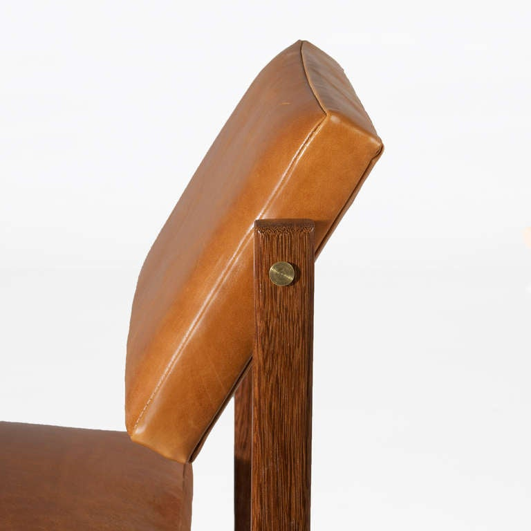 The Basic Bar Stool In Solid Brazilian Sucupira Wood By