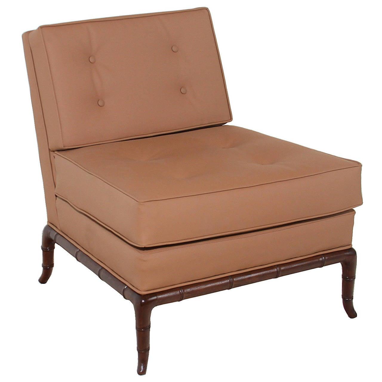 T.H. Robsjohn-Gibbings Iconic Slipper Chair