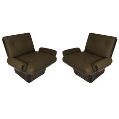Petite lounge chairs by Jorge Zalszupin for L'Atelier