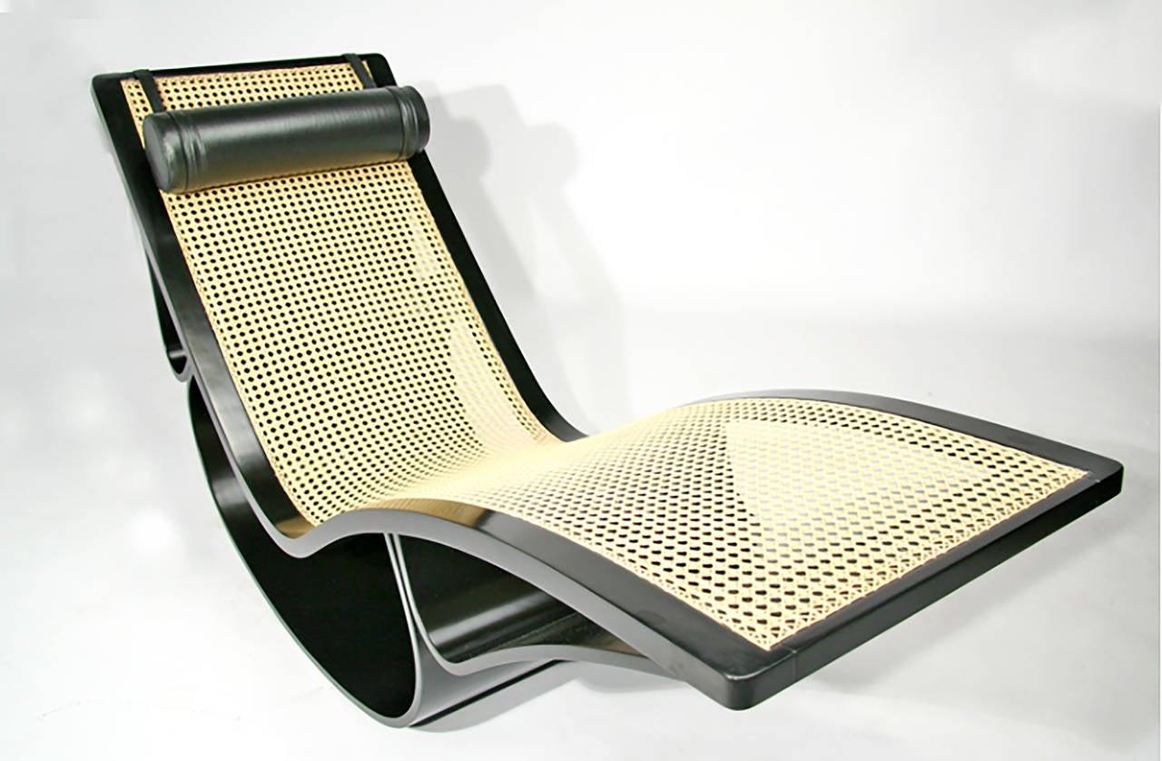 Vintage Rio Chaise Longue By Oscar Niemeyer
