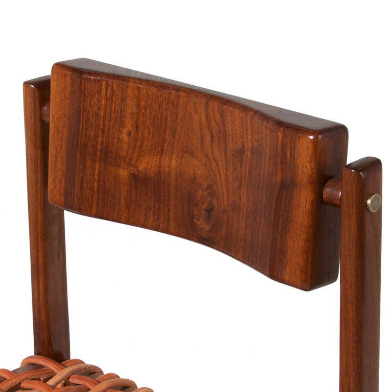 The Basic Wood Counter Stool By Thomas Hayes Studio At 1stdibs