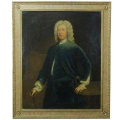 Large Portrait of an English Gentleman