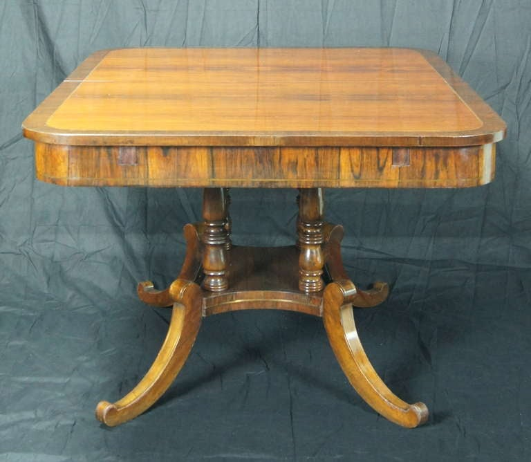 Regency Style Rosewood DiningLibrary Table at 1stdibs : DSC03684l from www.1stdibs.com size 768 x 668 jpeg 49kB