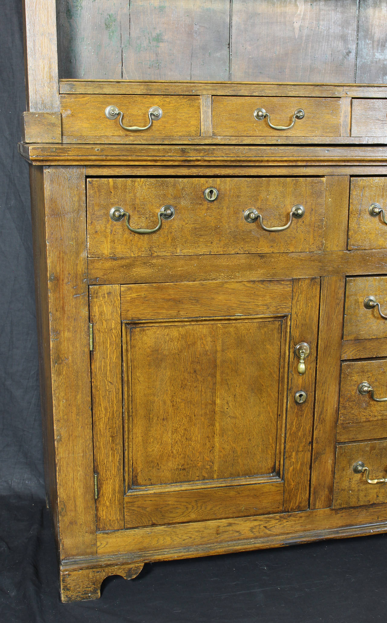 Mid-19th Century 19th Century English Oak Dresser For Sale