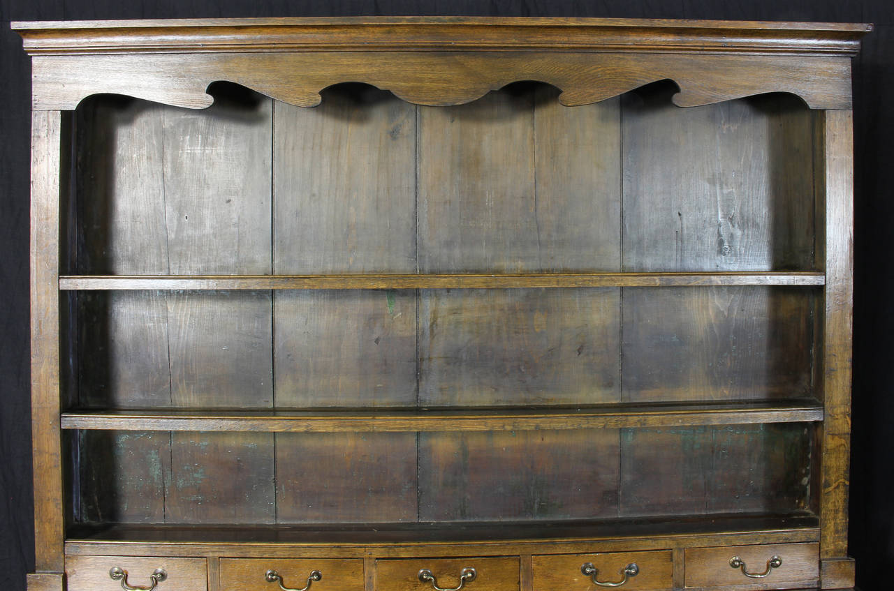 19th Century English Oak Dresser For Sale 2