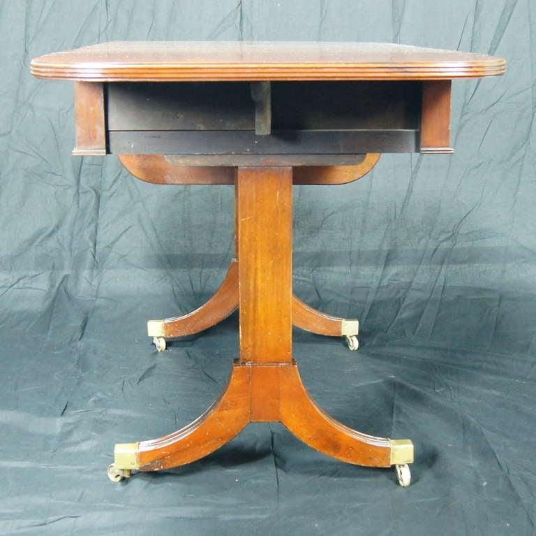 Regency Style Mahogany Sofa Table 7