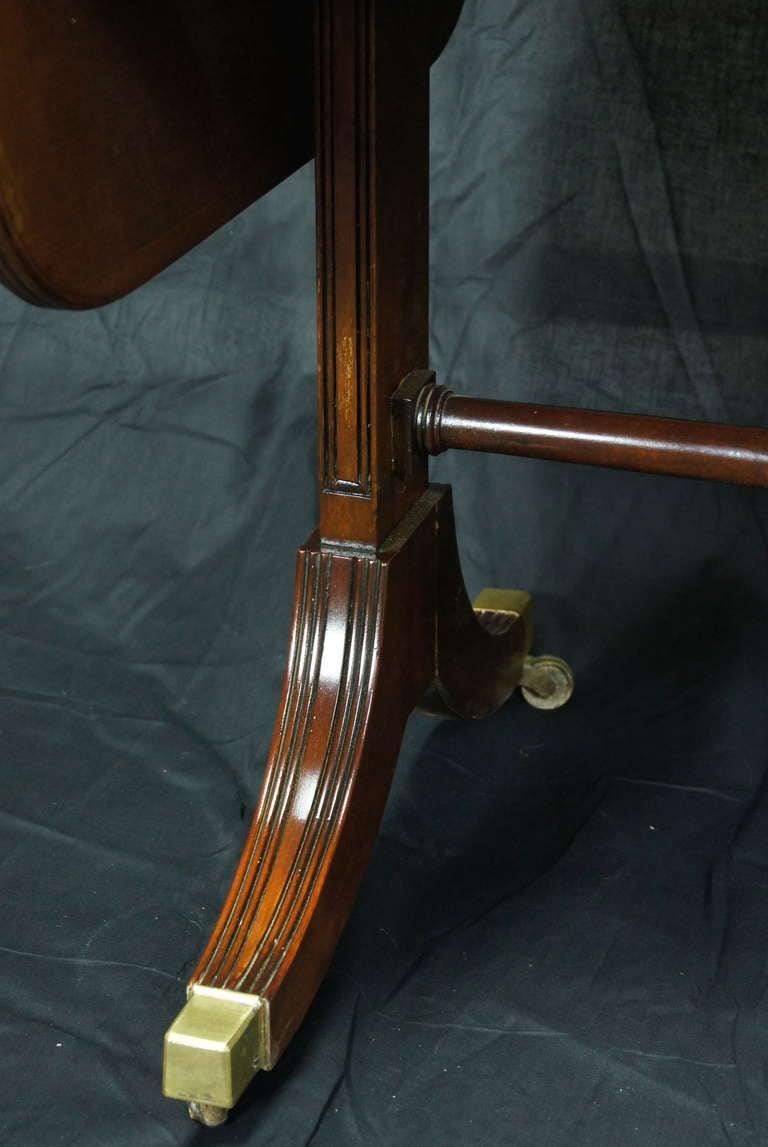 Regency Style Mahogany Sofa Table 10