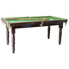 Edwardian Half-Scale Billiard Table