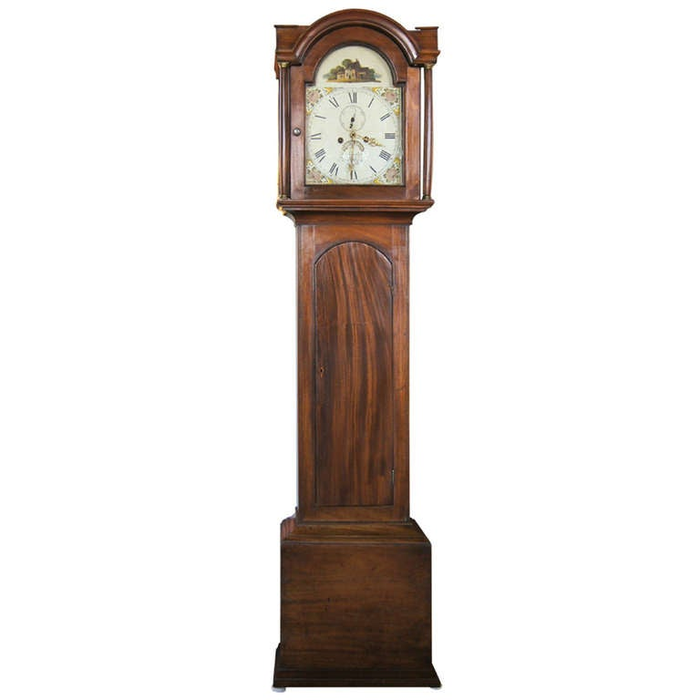 Early 19th Century English Tall Case Clock 1