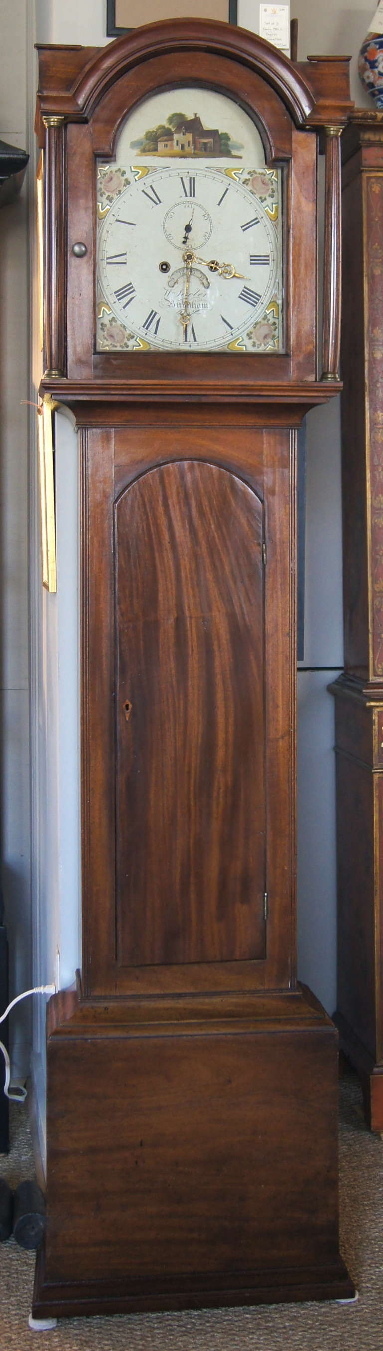 Early 19th Century English Tall Case Clock 4