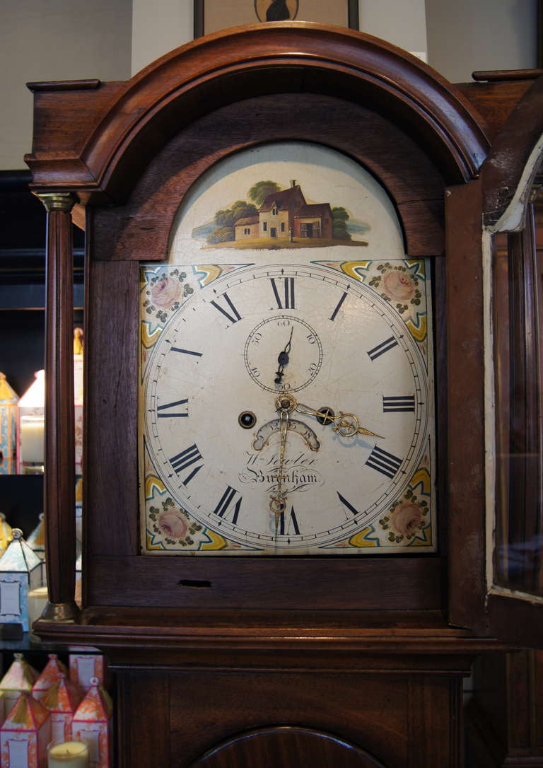Early 19th Century English Tall Case Clock 5