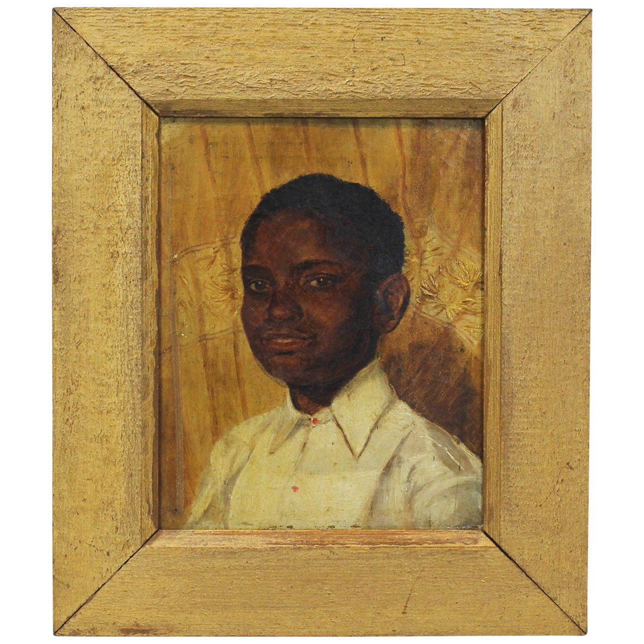 19th Century Portrait of a Young Black Man